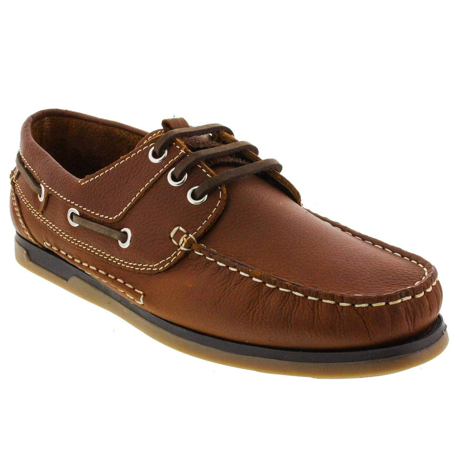 Trappeur 1402203350-40 TRAPPEUR Rayan Men's Casual Boat Shoes Brown / EU-40