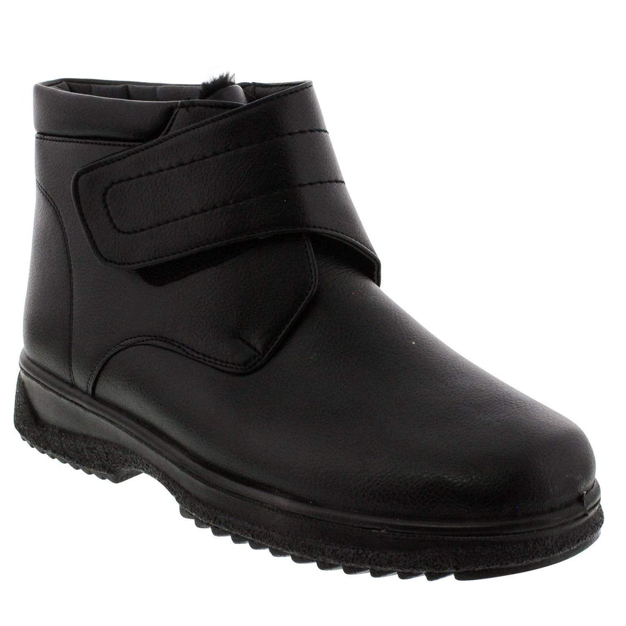 WALKING 1704190417-42 WALKING Men's Marcus Biker Boot Black / EU-42