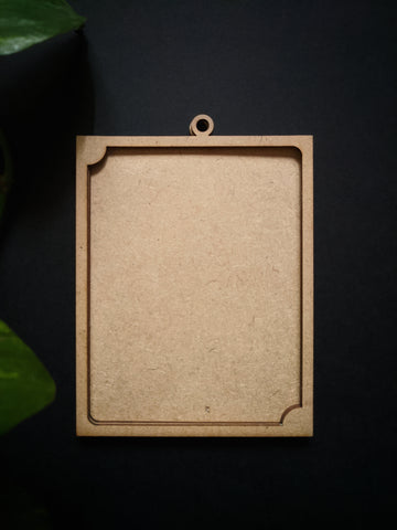 Hanging Photo Frame MDF Base