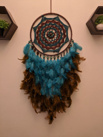Beach Blues Dreamcatcher