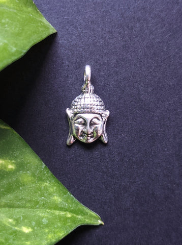 Small Buddha Metal Charm (Pack of 5)