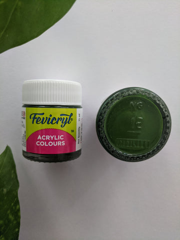Sap Green - Fevicryl Acrylic Colour