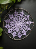 "5"" inches Light Purple Doily"