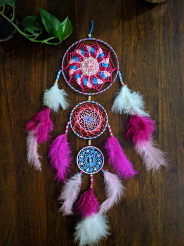 Pink Blush Dreamcatcher