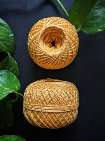 Apricot Orange - Crochet Thread (40gm)