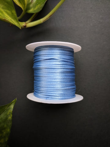 Baby Blue - Satin Thread