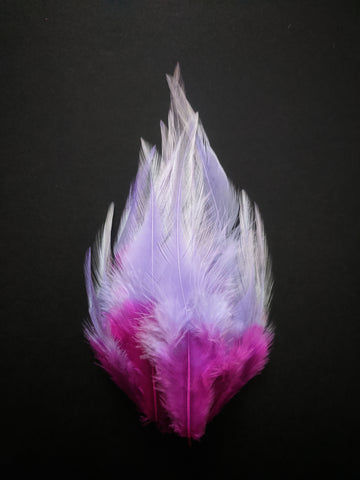 Blossom Shades - Long Pointed Natural Feathers (100 Pieces)