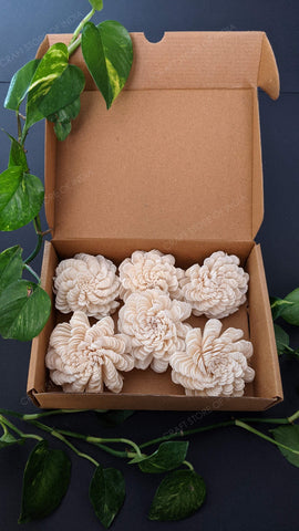 Chorka Spiral Flowers (Pack of 6)