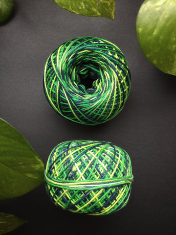 Forest Shades - Crochet Thread (40gm)