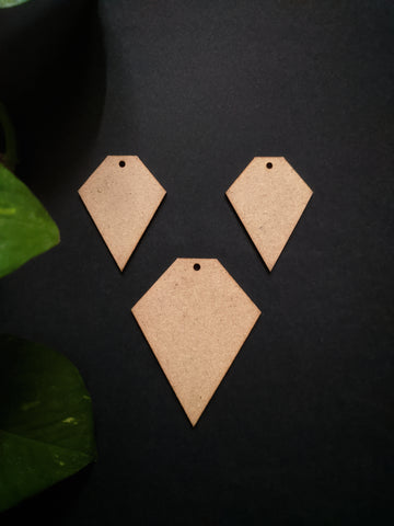Geometric Jewellery MDF Base