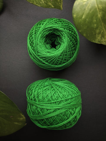 Green - Crochet Thread (40gm)
