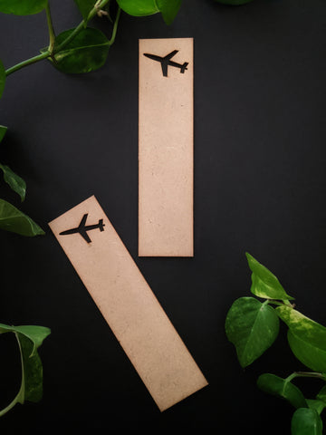 Travel Bookmark MDF Base (Pack of 2)