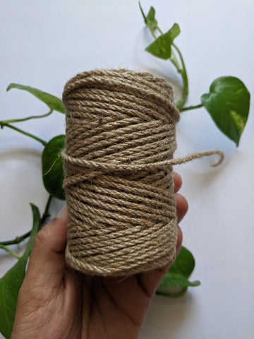 Natural 3mm Jute Rope