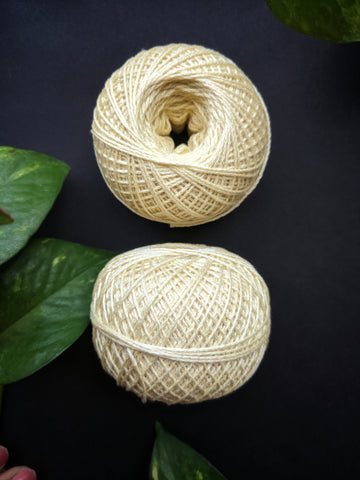 Lemon Yellow - Crochet Thread (40gm)