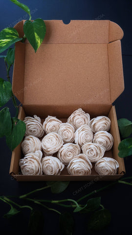 Natural Roses (Pack of 15)