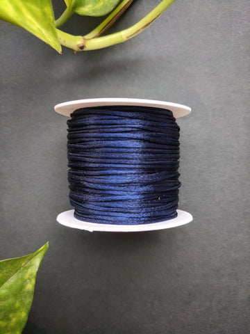 Navy Blue - Satin Thread
