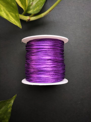 Purple - Satin Thread