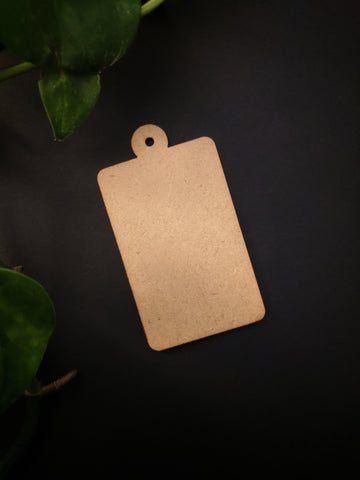 Rectangle Keychain MDF Base