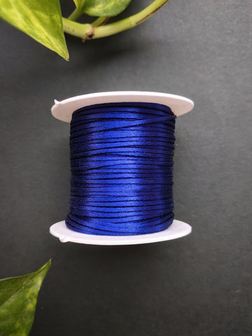 Royal Blue - Satin Thread