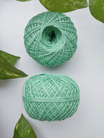 Sea Green - Crochet Thread (40gm)