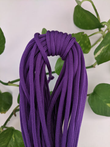 Violet - 4mm Nylon Knot Macrame Thread