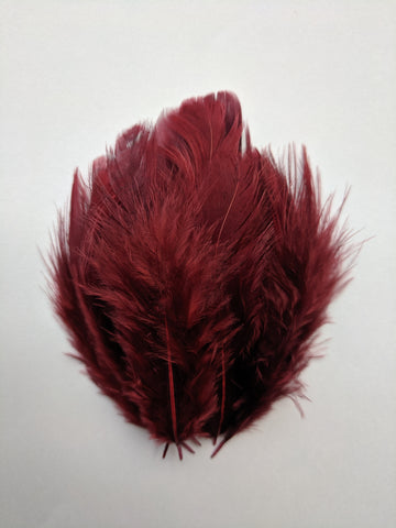 Wine - Natural Small Feathers (100 Pieces)