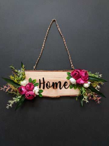 Customised Wooden Name Plate