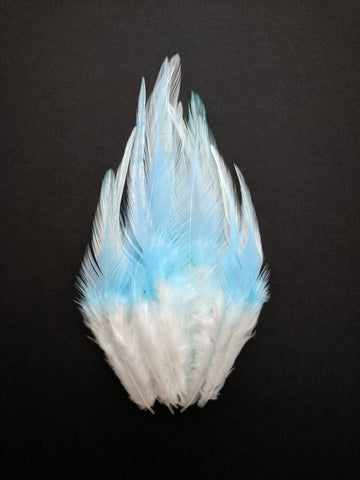 Sky Shades - Long Pointed Natural Feathers (100 Pieces)