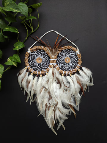 Wreath Owl Dreamcatcher