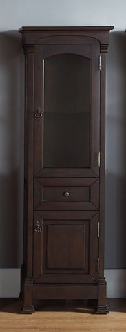 Brookfield Linen Cabinet, Burnished Mahogany