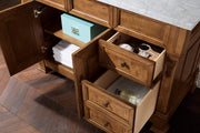 "48"" Brookfield Country Oak w/ Drawers Single Bathroom Vanity, James Martin Vanities - vanitiesdepot.com"