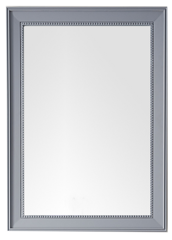 "Bristol 29"" Rectangular Mirror, Cottage White Bristol 29"" Rectangular Mirror, Silver Gray, James Martin Vanities - vanitiesdepot.com"