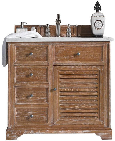 "36"" Savannah Single Bathroom Vanity, Driftwood"