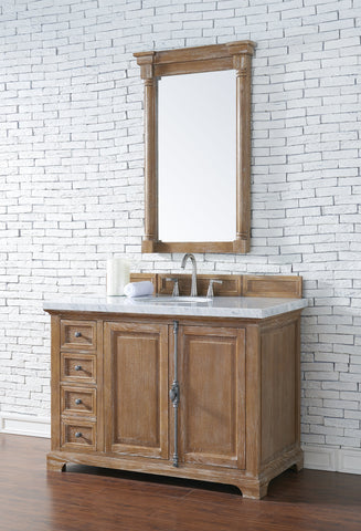 "48"" Providence Driftwood Single Bathroom Vanity, James Martin Vanities - vanitiesdepot.com"