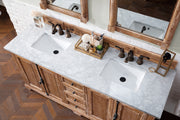 "72"" Providence Double Sink Bathroom Vanity, Driftwood"