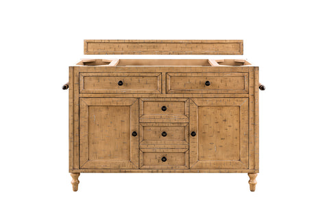 "48"" Copper Cove Single Sink Bathroom Vanity, Driftwood Patina"