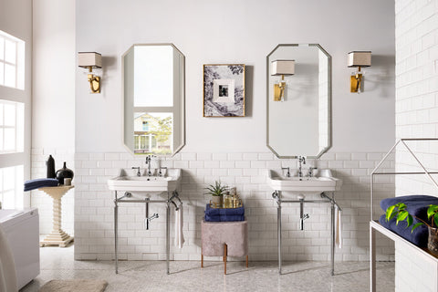 "24"" Wellington Single Console Sink Bathroom Vanity, James Martin Vanities - vanitiesdepot.com"