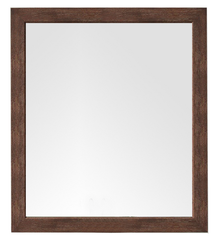 "Columbia 48"" Mirror, Coffee Oak, James Martin Vanities - vanitiesdepot.com"