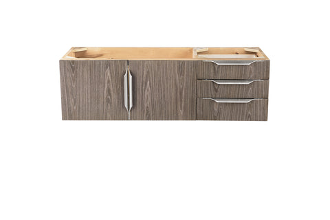 "48"" Mercer Island Single Sink Bathroom Vanity, Ash Gray"