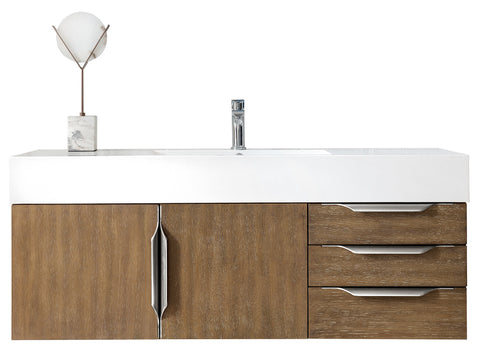 "48"" Mercer Island Single Sink Bathroom Vanity, Latte Oak"
