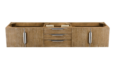 "72"" Mercer Island Single Sink Bathroom Vanity, Latte Oak"