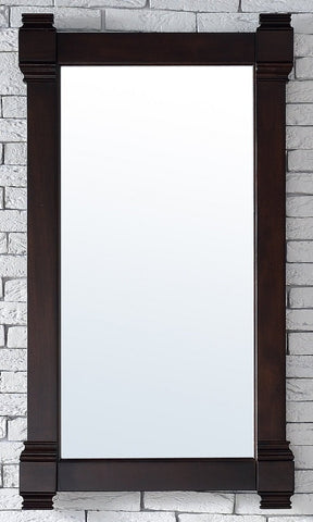"Brittany 22"" Mirror, Burnished Mahogany, James Martin Vanities - vanitiesdepot.com"