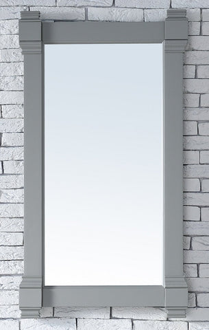 "Brittany 22"" Mirror, Urban Gray, James Martin Vanities - vanitiesdepot.com"