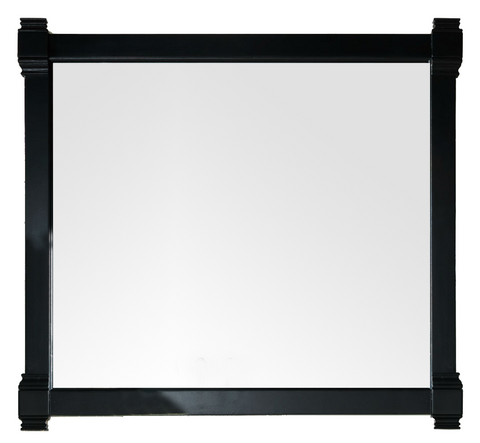 "Brittany 43"" Mirror, Black Onyx, James Martin Vanities - vanitiesdepot.com"