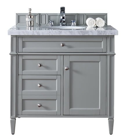 "36"" Brittany Single Bathroom Vanity, Urban Gray"