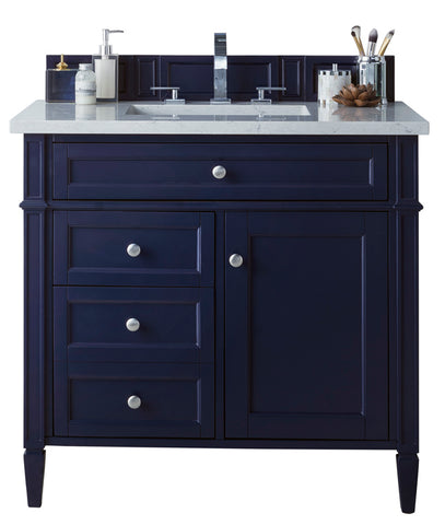 "36"" Brittany Single Bathroom Vanity, Victory Blue"