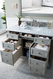 "48"" Brittany Single Bathroom Vanity Urban Gray, James Martin Vanities - vanitiesdepot.com"