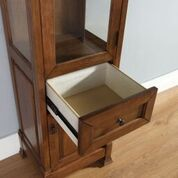 Brookfield Linen Cabinet, Warm Cherry