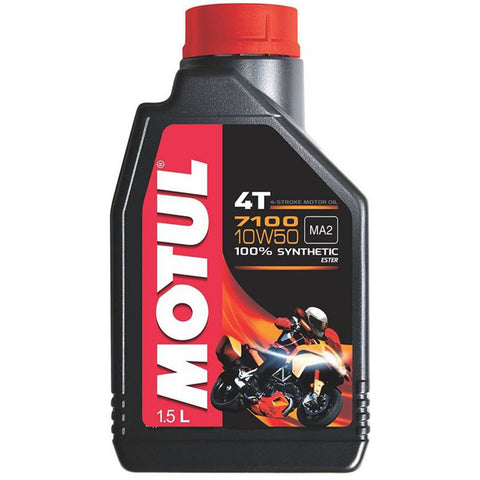 MOTUL 7100 4T 10W50 ENGINE OIL - 1.5L