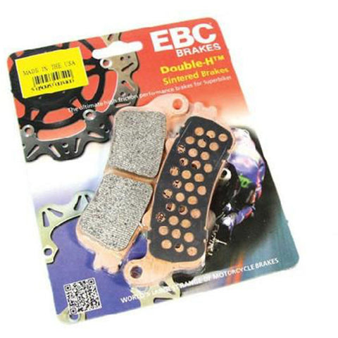 EBC DOUBLE H SINTERED BRAKE PADS - FA606HH